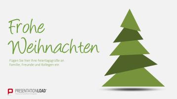 Weihnachtsvorlagen Triangel Christbaum _https://www.presentationload.de/weihnachtsvorlagen-triangel-christbaum.html