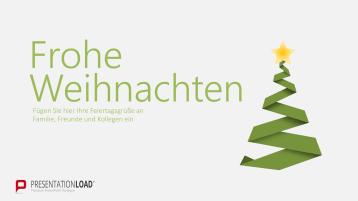 Weihnachtsvorlagen Weihnachtsbaum mit Sternkrone _https://www.presentationload.de/weihnachtsvorlagen-weihnachtsbaum-mit-sternkrone.html