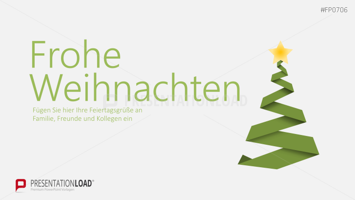 Weihnachtsvorlagen Weihnachtsbaum mit Sternkrone