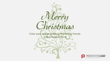 Christmas Templates Christmas Tree Shape _https://www.presentationload.com/christmas-templates-christmas-tree-shape.html