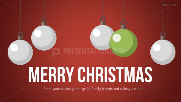 Christmas Templates Christmas Tree Balls _https://www.presentationload.com/christmas-templates-christmas-tree-balls.html