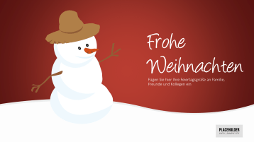 Weihnachtsvorlagen Schneemann _https://www.presentationload.de/weihnachtsvorlagen-schneemann.html
