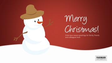 Christmas Templates Christmas Mr. Snow _https://www.presentationload.com/christmas-templates-christmas-mr-snow.html