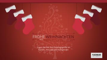 Weihnachtsvorlagen Weihnachtssocken _https://www.presentationload.de/weihnachtsvorlagen-weihnachtssocken.html