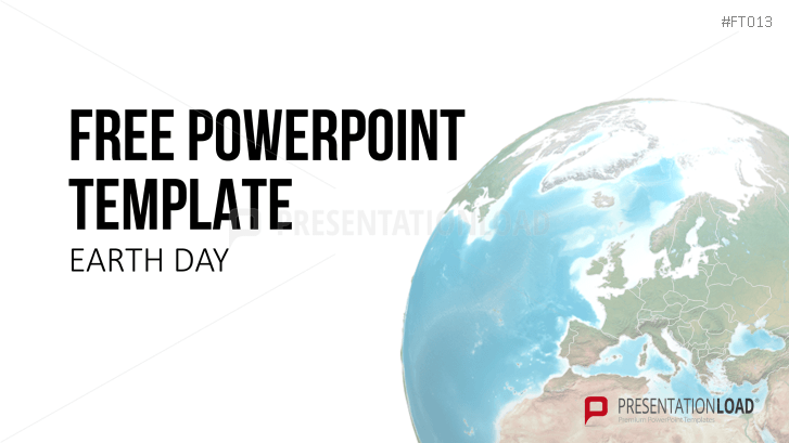 Kostenlose PowerPoint-Vorlage zum Earth Day