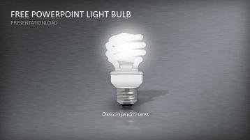 Bombilla de bajo consumo- Plantilla PowerPoint gratuita  _https://www.presentationload.es/free-powerpoint-lampara-ahorro-de-energia-plantilla-1.html