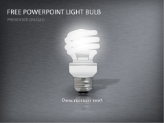 Free PowerPoint Template Light Bulb _https://www.presentationload.com/free-powerpoint-template-light-bulb.html