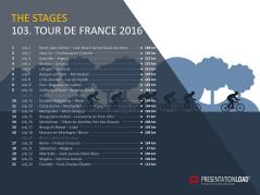 Free PowerPoint Template Tour de France 2016 _http://www.presentationload.com/free-powerpoint-template-tour-de-france-2016.html