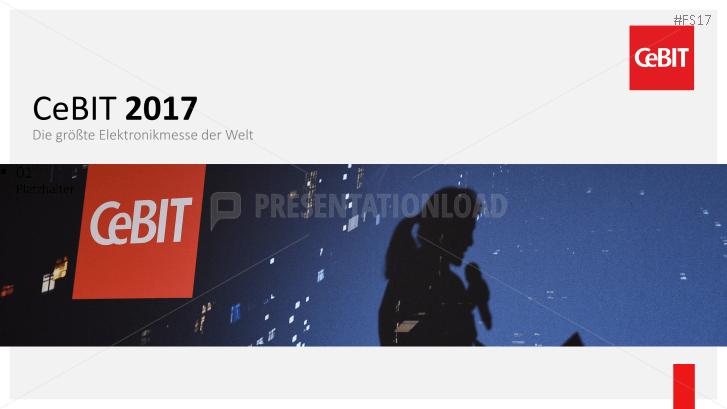 CeBIT 2017 _http://www.presentationload.de/cebit-2017-powerpoint-vorlage.html