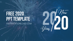 Kostenlose PowerPoint-Vorlage 2020 _https://www.presentationload.de/kostenlose-powerpoint-vorlage-2020.html