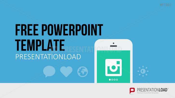 presentationload | free powerpoint template mobile app, Powerpoint templates