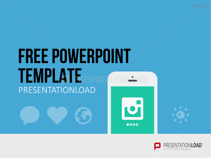 Presentationload free powerpoint template mobile app pronofoot35fo Images