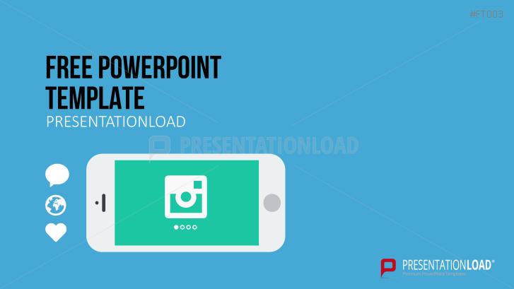 Presentationload free powerpoint template mobile app toneelgroepblik Images