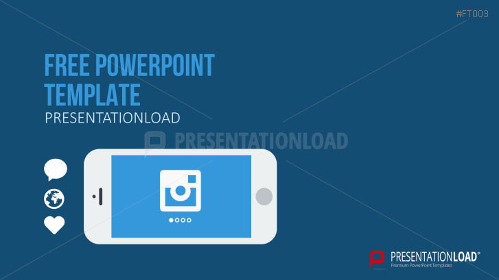 presentationload | free powerpoint template mobile app, Presentation templates