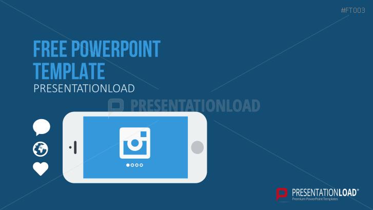 Presentationload free powerpoint template mobile app toneelgroepblik Gallery