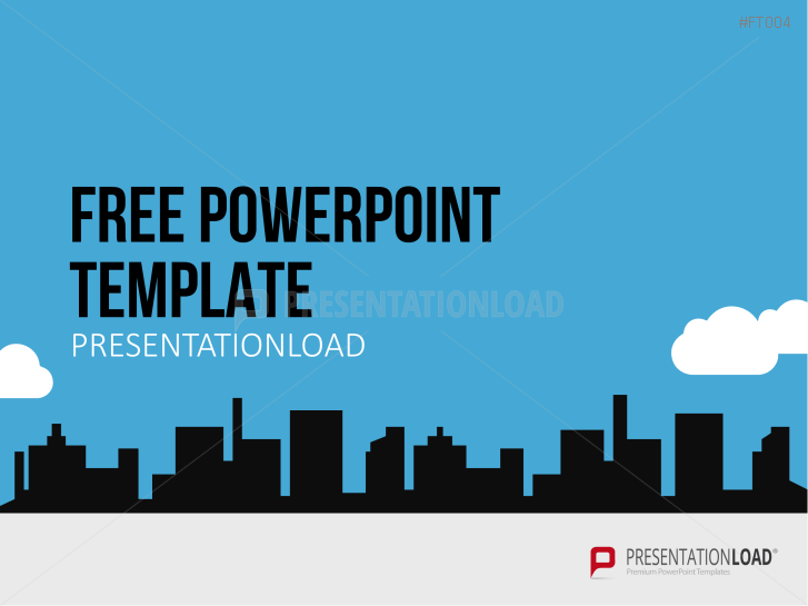 Free powerpoint templates presentationload free powerpoint template city skyline httpspresentationloadfree toneelgroepblik Images