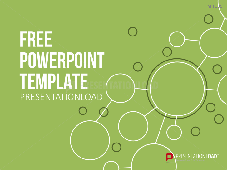 free powerpoint template green path _httpswwwpresentationloadcomfree
