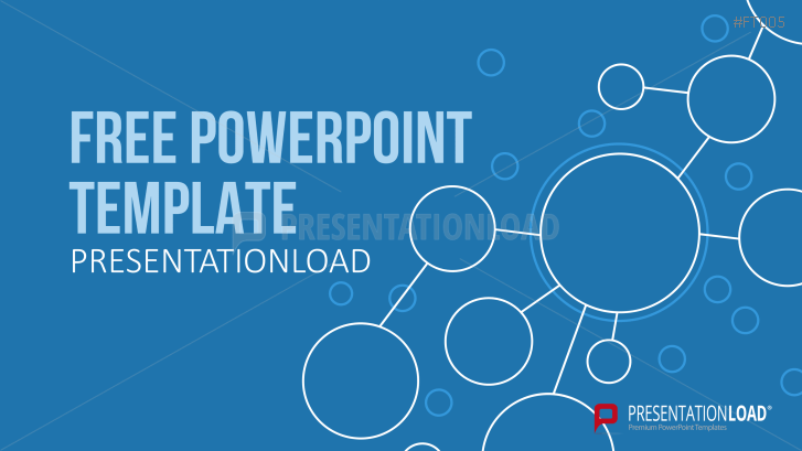 Presentationload Free Powerpoint Template Green Path