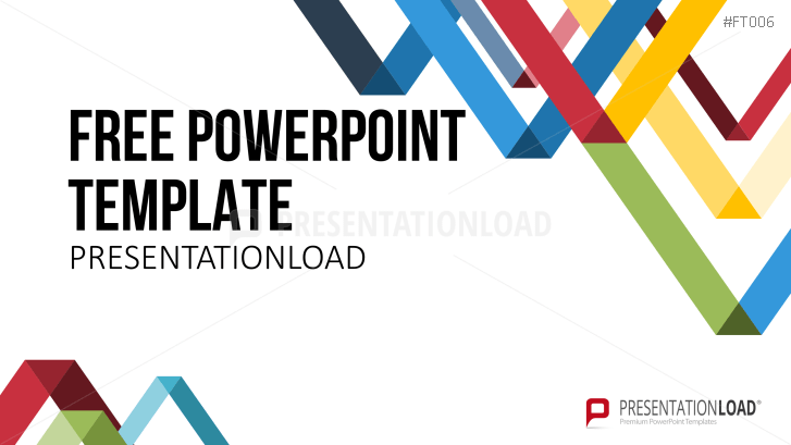 presentationload free powerpoint template lowpoly triangles
