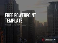 Kostenlose PowerPoint-Vorlage Skyline _http://www.presentationload.de/kostenlose-powerpoint-vorlage-skyline.html