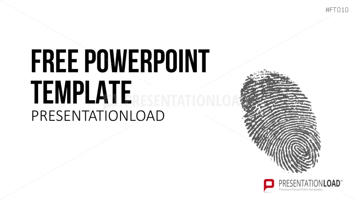 Presentationload free powerpoint template fingerprint free powerpoint template fingerprint toneelgroepblik Images