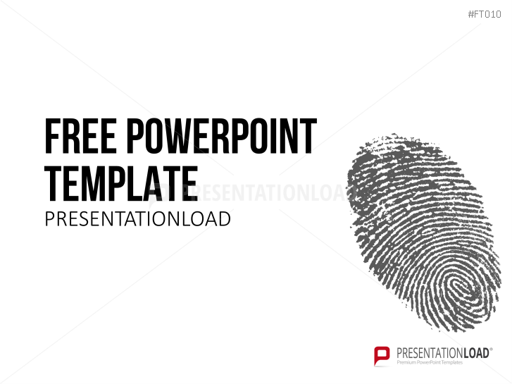 Free powerpoint templates presentationload free powerpoint template fingerprint httpspresentationloadfree toneelgroepblik Image collections