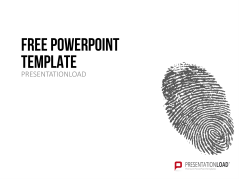 Free PowerPoint Template Fingerprint _http://www.presentationload.com/free-powerpoint-template-fingerprint.html