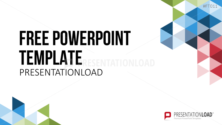 Presentationload Free Powerpoint Template Geometric Shapes