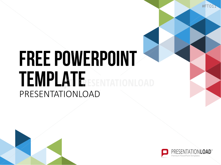 ... Free PowerPoint Template Geometric Shapes  _https://www.presentationload.com/free