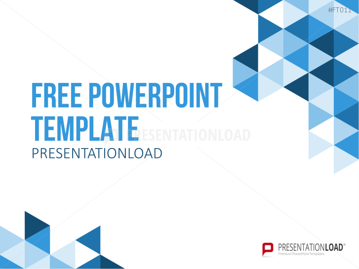 PresentationLoad | Free PowerPoint Template Geometric Shapes