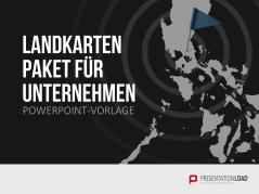 Landkarten Paket für Unternehmen _https://www.presentationload.de/landkarten-paket-fuer-unternehmen-powerpoint-vorlage.html