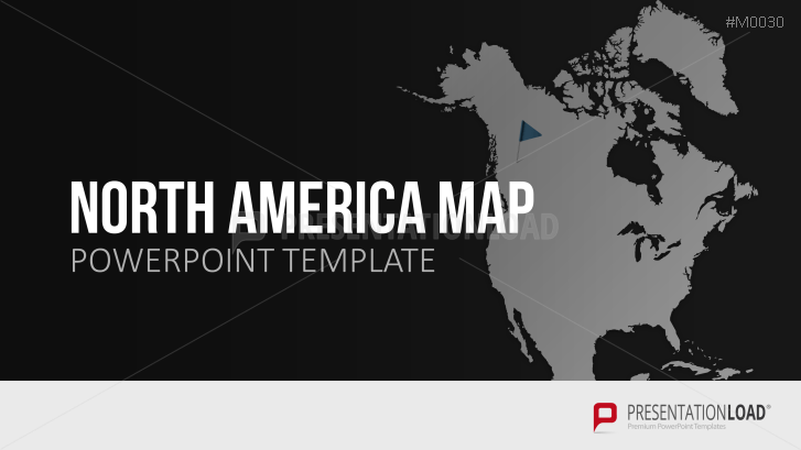 Powerpoint map asia pacific presentationload north america toneelgroepblik Choice Image