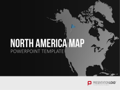 North America _https://www.presentationload.com/map-north-america.html