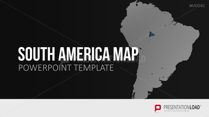 Powerpoint map south america presentationload south america toneelgroepblik Images