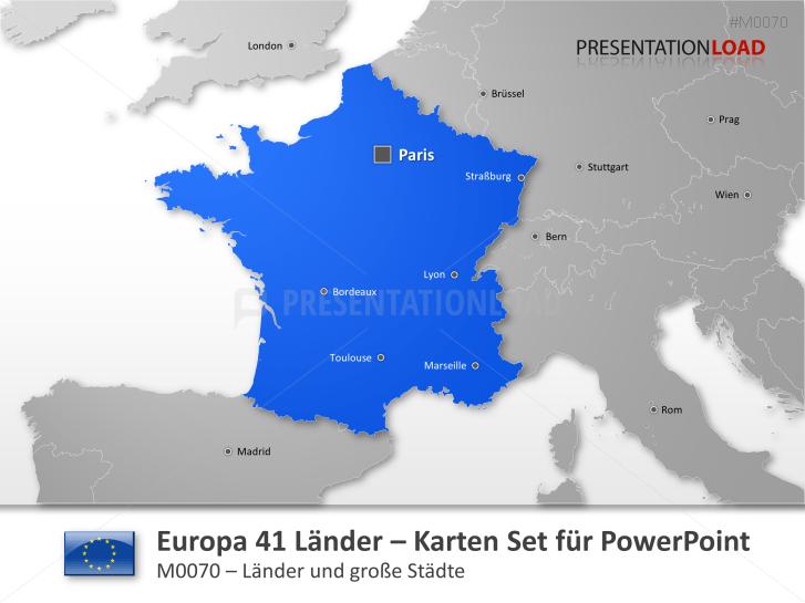 Europa - 41 Länder _https://www.presentationload.de/landkarte-europa-41-laender.html