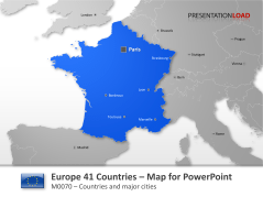 Europe - 41 Countries _https://www.presentationload.com/map-europe-41-countries.html