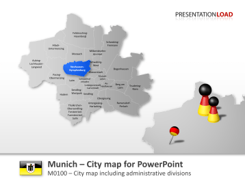 Munich - City Map _https://www.presentationload.com/city-map-munich.html