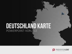 Deutschland _http://www.presentationload.de/landkarte-deutschland.html
