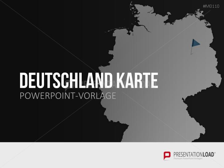 Deutschland _https://www.presentationload.de/landkarte-deutschland.html