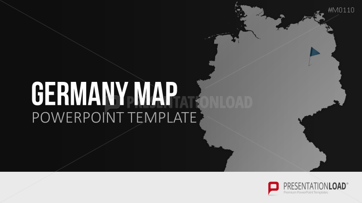 Powerpoint map germany presentationload germany toneelgroepblik Gallery