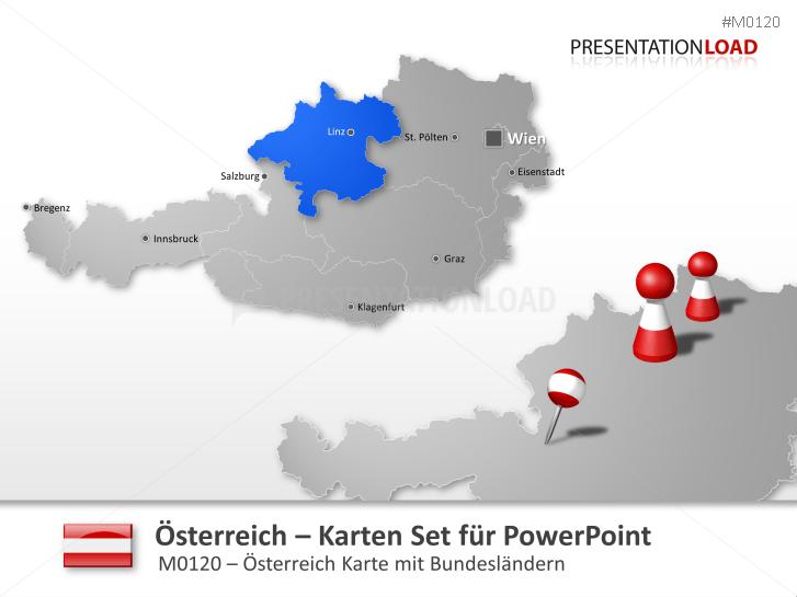 Österreich _http://www.presentationload.de/landkarte-oesterreich.html
