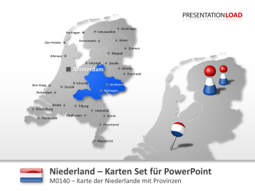 Niederlande _https://www.presentationload.de/landkarte-niederlande.html
