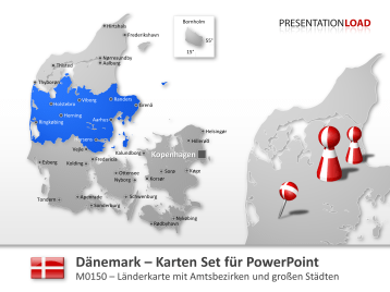 Dänemark _https://www.presentationload.de/powerpoint-landkarten/laender-europa/Daenemark.html