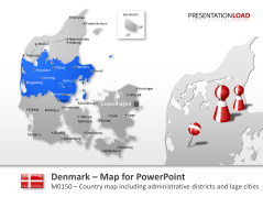 Denmark _https://www.presentationload.com/map-denmark.html