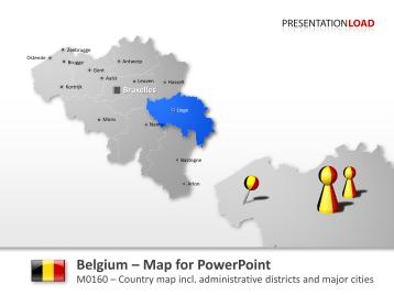 Belgium _https://www.presentationload.com/map-belgium.html