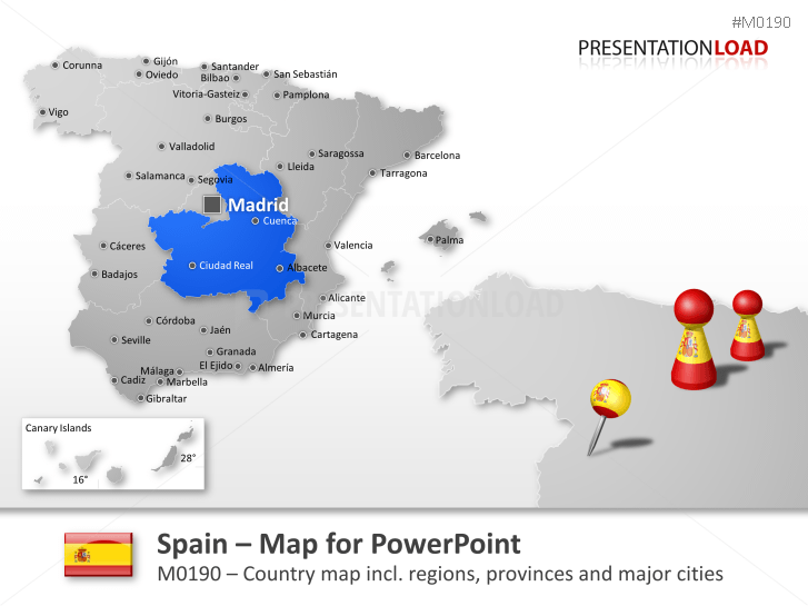 Spain _https://www.presentationload.com/map-spain.html