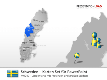 Schweden _https://www.presentationload.de/landkarte-schweden.html