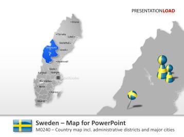 Sweden _https://www.presentationload.com/map-sweden.html