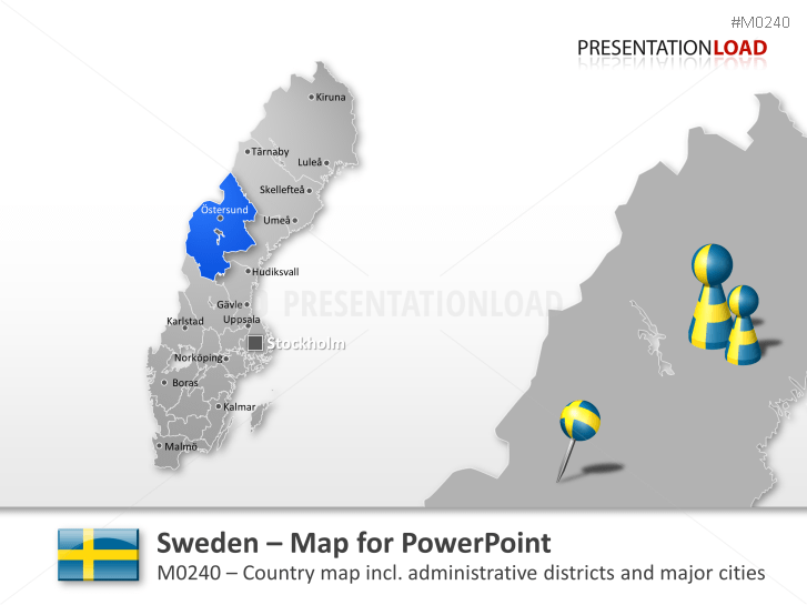 Sweden _https://www.presentationload.com/map-sweden.html