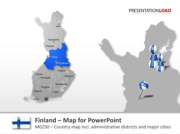 Finland _https://www.presentationload.com/map-finland.html